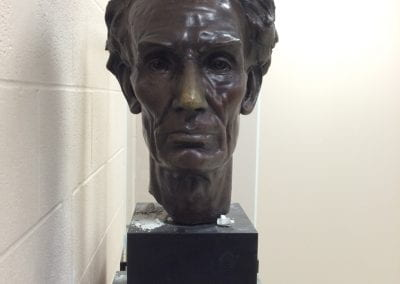 Untitled (Lincoln bust)