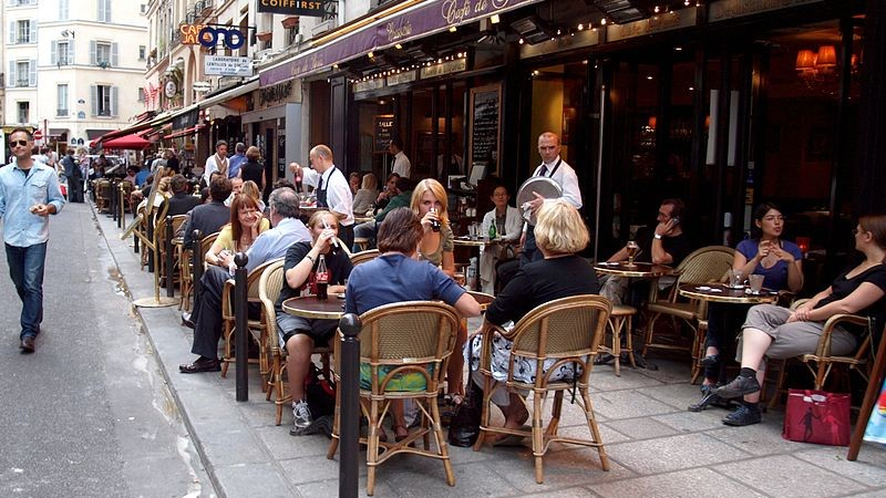 The World of the Paris Cafe:  as a Cultural Institution in Paris
