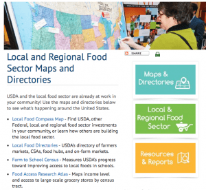 Local and Regional Food Directories and Maps