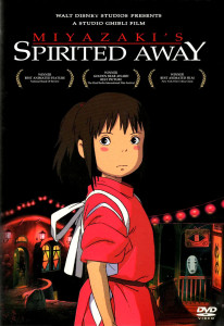 The Spirited Away cover as released in America by Disney