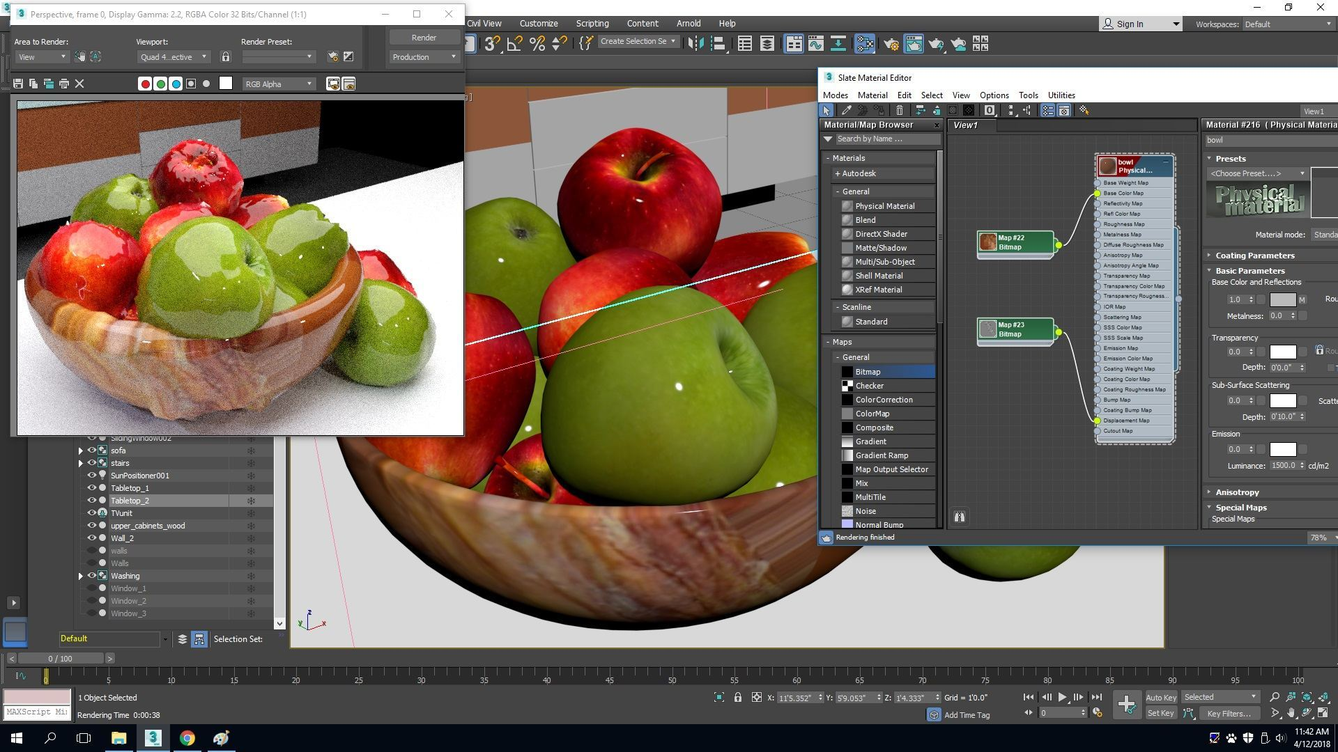 Applying Materials in 3Ds Max 2018 – Blog