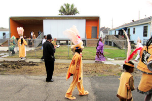 The Donald Harrison Sr. Museum and Cultural Center enlightens the lower 9th ward with the festivity of Mardi Gras Indian tradition.