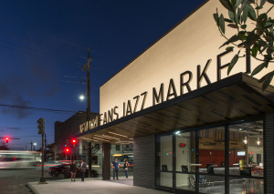 The yet to be opened New Orleans Jazz Market will celebrate New Orleans' legacy in Jazz music, incorporating museum, performance hall and practice rooms into a combined space.