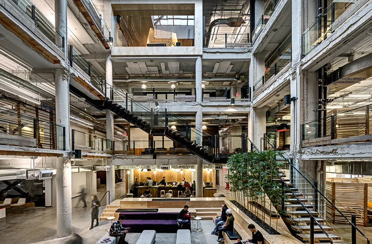 Lowe Campbell Ewald Offices by Neumann Smith Architects