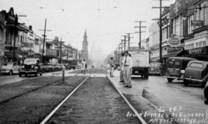 The historic Dryades Street which has been renamed to Oretha Castle Haley Boulevard, who notably led a civil rights effort at that location.