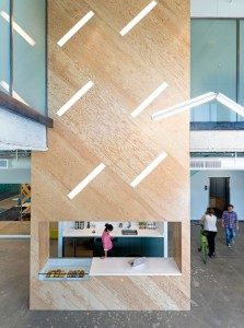 Evernote atrium space, San Francisco California, Architects: Studio O+A