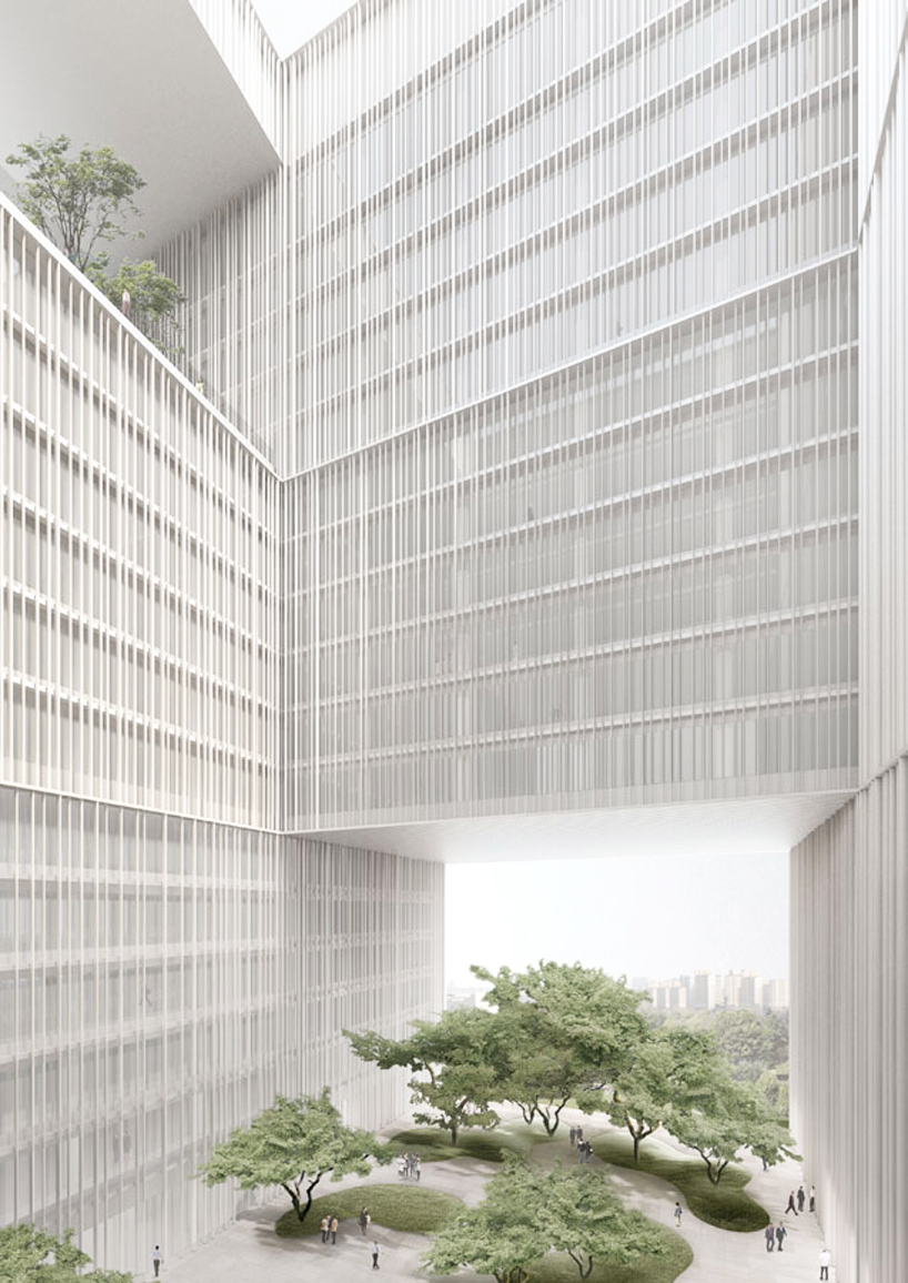 Rendering by David Chipperfield Architects Seoul, Korea