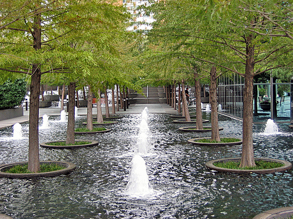 Landscape Architecture by Dan Kiley Dallas, Texas