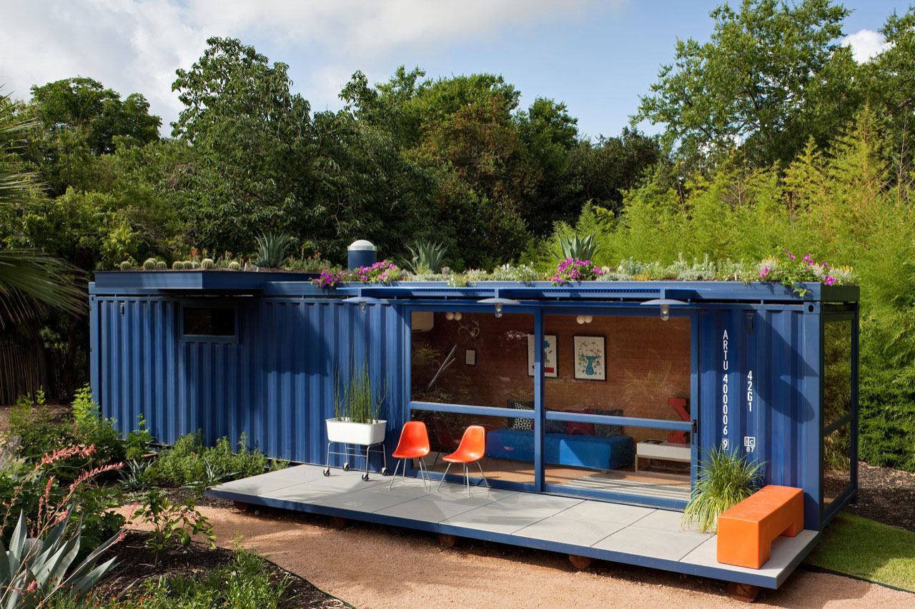 Shipping Container - Jim Poteet - San Antonio, TX