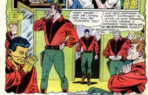 Chop-Chop's new look for 1964. From Blackhawk #197.