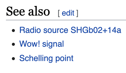 "Screenshot of the Wikipedia page on the Water Hole showing a link to ""Schelling Points"""