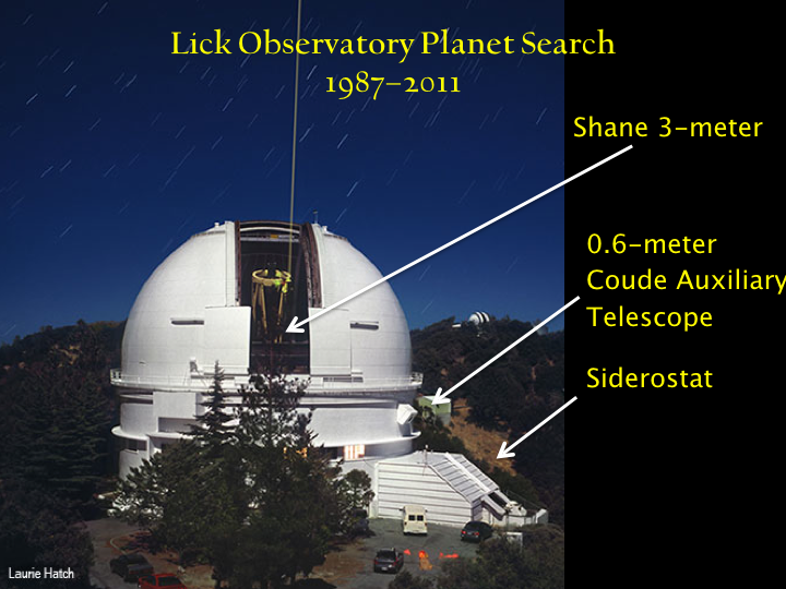 The Shane 120-inch at Lick Observatory on Mount Hamilton, above San Jose. I spent many, many (too many) nights on that mountain in my many (too many) years in graduate school.