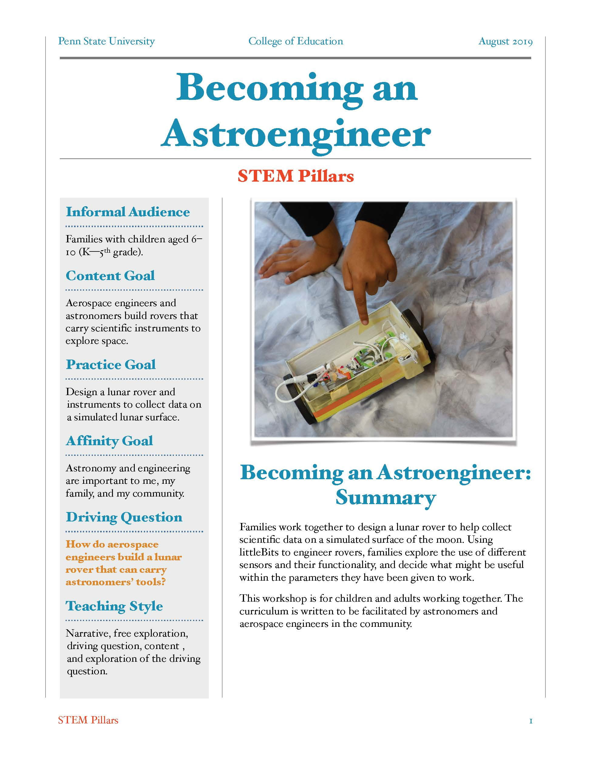 Download: Collecting Data with a Lunar Rover