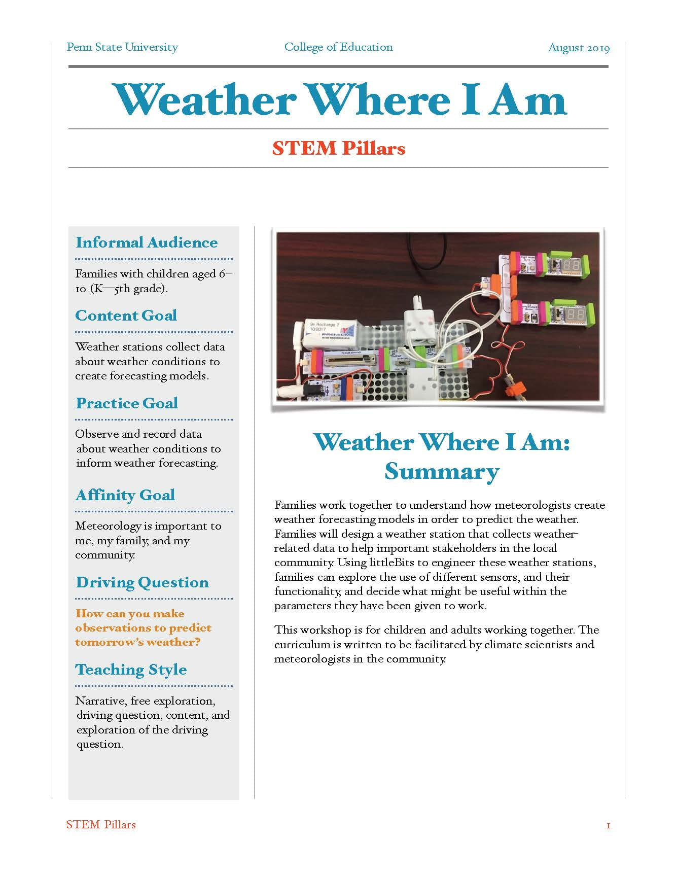 Download: Weather Where I Am