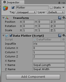 Beginning Data Visualization in Unity: Scatterplot Creation