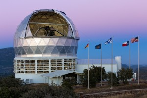 The Hobby Eberly telescope. Credit: McDonald Observatory