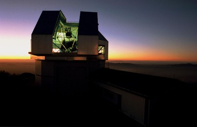 The WIYN telescope at sunset. Credit: NOAO/AURA/NSF