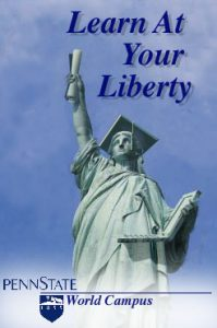 Statue of Liberty ad