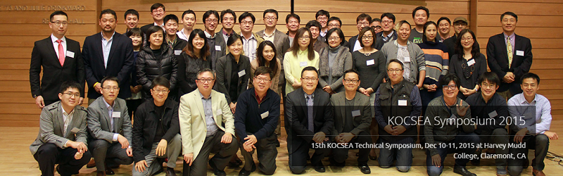"Eun-Kyeong Kim presented ""Introduction to NSF-sponsored Big Data Education Project"" at KOCSEA 2015"