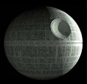 Scientist at ECBC have successfully been able to store the digital information for how to 3D print the imperial death star inside a single bacteria.  Yeah, you read that right.  Sometimes science is especially cool.  Image source: https://www.flickr.com/photos/cosmobc/4484688366