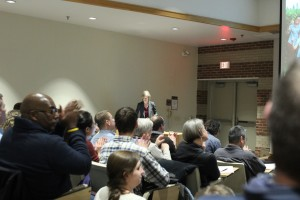 Dr. Jennifer Doudna came to Penn State and delivered to a full house.