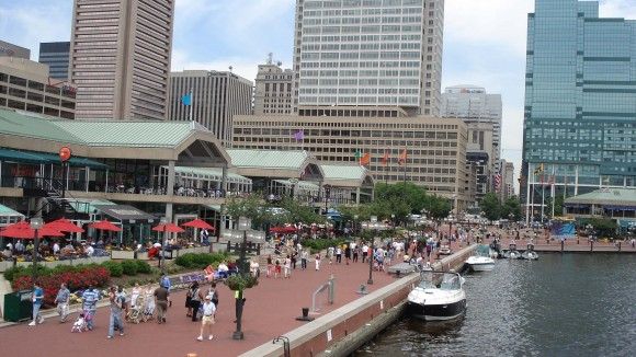 baltimore, contact, inner harbour