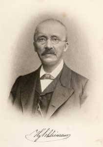 Heinrich Schliemann discovered Troy and the Mycenae Grave Shafts.