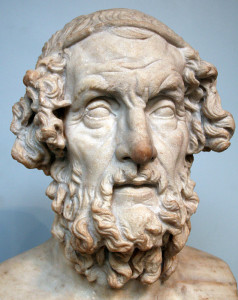[4] A bust of Homer, the famous and cherished Greek poet.