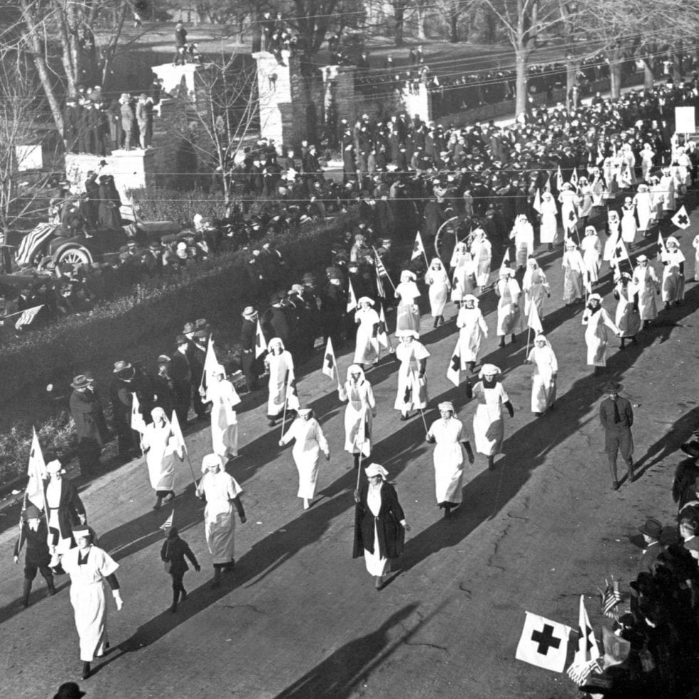 WWI Peace Parade, 1914-18