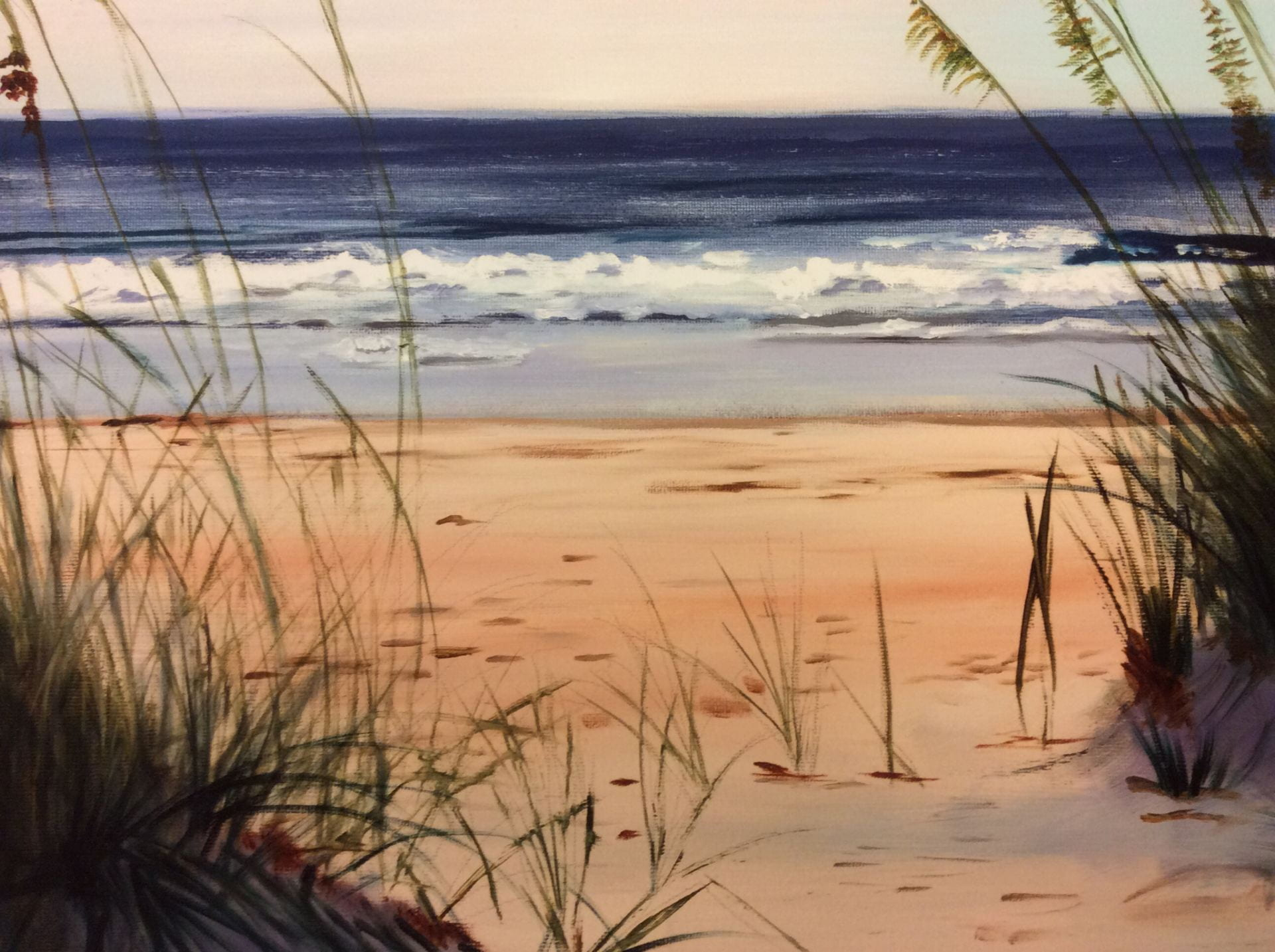 The Dunes At Stone Harbor NJ created by Nancy Schell