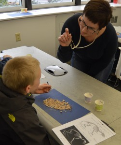 Fifth-graders visit Penn State to learn about the earth sciences and do authentic research in paleoecology.