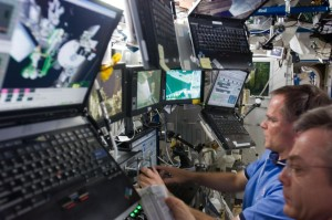 Computer technology used in space currently