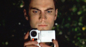 "The movie ""American Beauty"", directed by Sam Mendes and written by Alan Ball. Seen here, Wes Bentley as Ricky Fitts. Initial theatrical wide release October 1, 1999. Screen capture. © 1999 DreamWorks. Credit: © 1999 DreamWorks / Flickr / Courtesy Pikturz. Image intended only for use to help promote the film, in an editorial, non-commercial context."