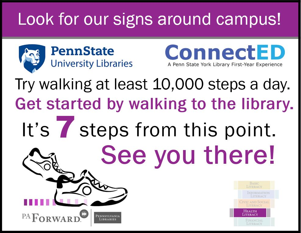 Image of Step Forward signage