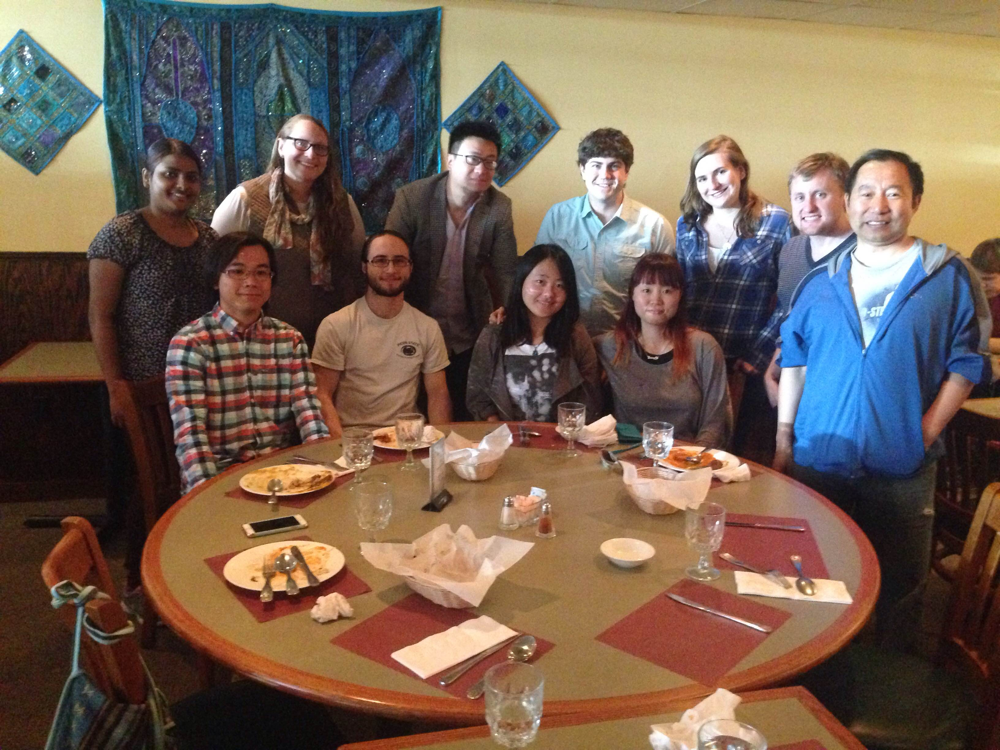 Goodbye lunch for Seung-Yi