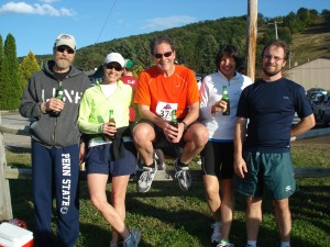 "My 2010 Tussey Mountainback team ""Built for Comfort"" including Alan and Kristin Taylor, Denice Wardrop, and Mark Wherley."