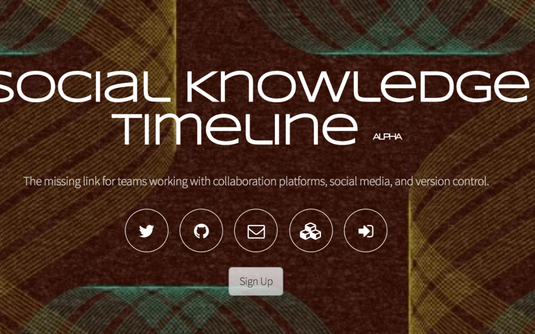 Social Knowledge Timeline