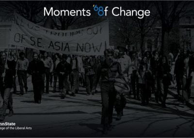 Witness to Change: The Penn State Experience