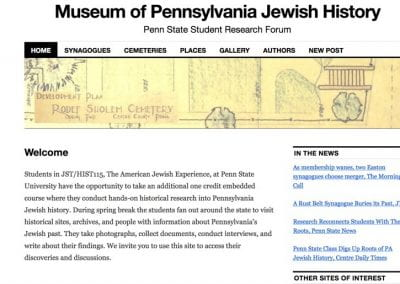 The Museum of Pennsylvania Jewish History