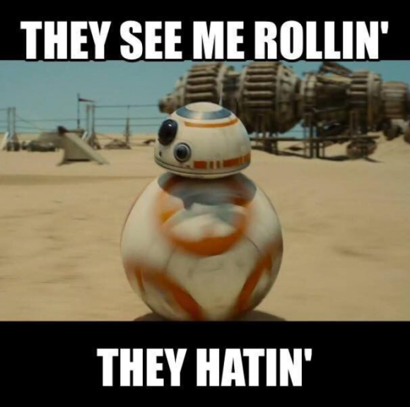 Cute Star Wars Robot Ball Meme