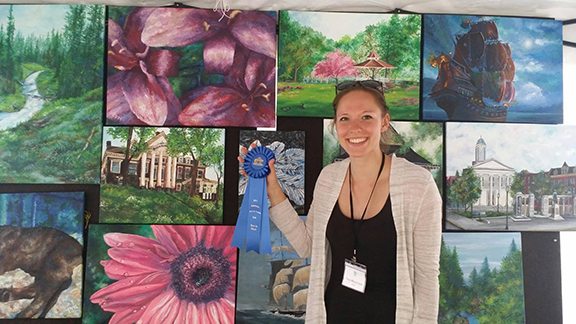 Tara Mazurczyk Best in Show Bellefonte