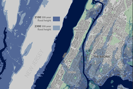 sea Level rise in NYC