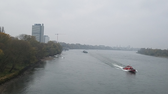 view across the Rhine River