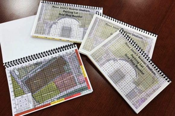 grid map booklets