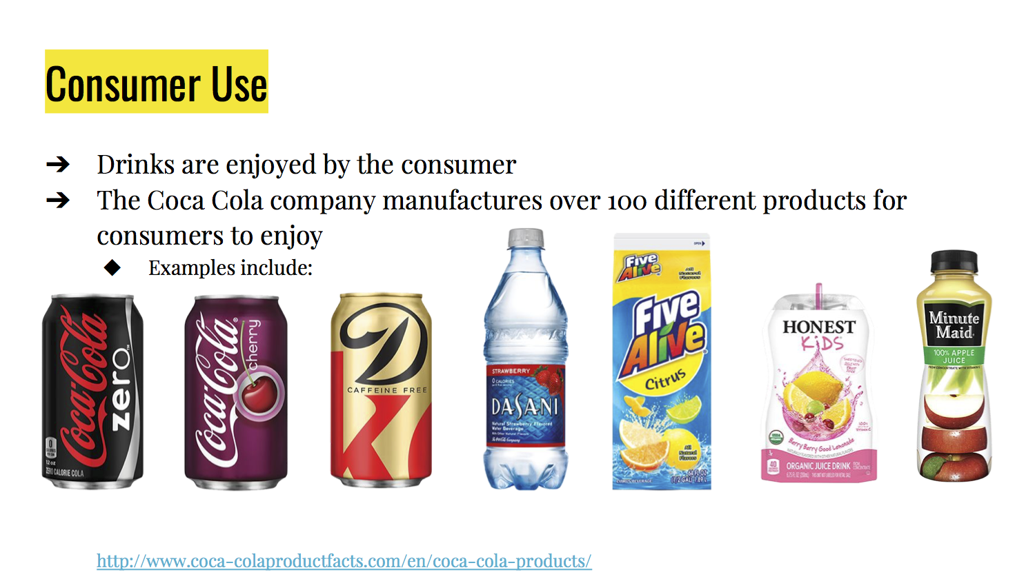 Consumer Product Lifecycle Edsgn 100 Project 1
