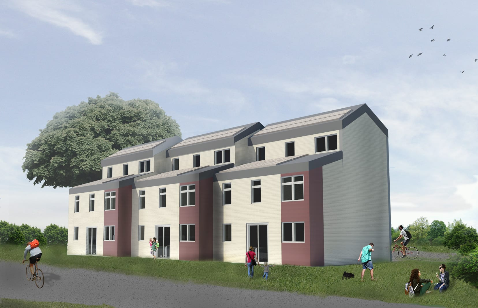 SmartStart Homes Rendering