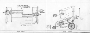 Moringa crop harvester design drawings.