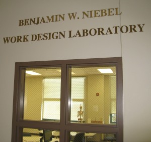 The lab provides close to 1,000 square feet of space dedicated to human factors research and education.