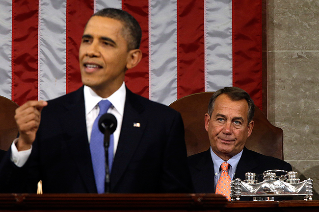 Seriously, check out Boehner's face! :)