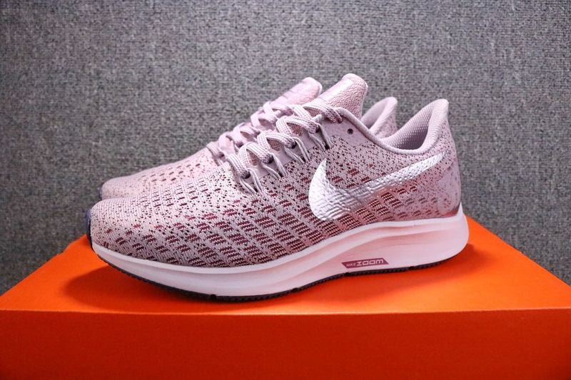 0558b3944ba The Nike Air Zoom Pegasus 35 in Rust Pink would be my new companion for my  first year of college.